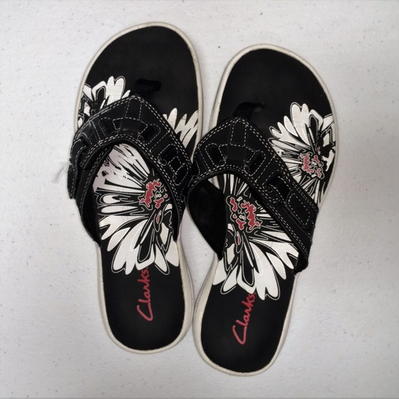 bce49b23f Clarks Shoes - Clarks Breeze Sea Flip Flop Black